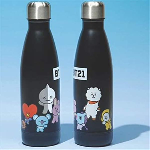 BT21 METAL WATER BOTTLE 500ML