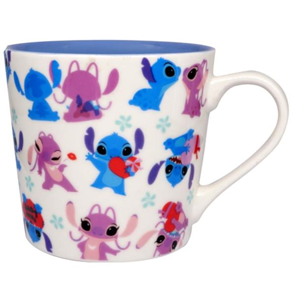 DISNEY STITCH & ANGEL CERAMIC MUG (15 FL OZ)