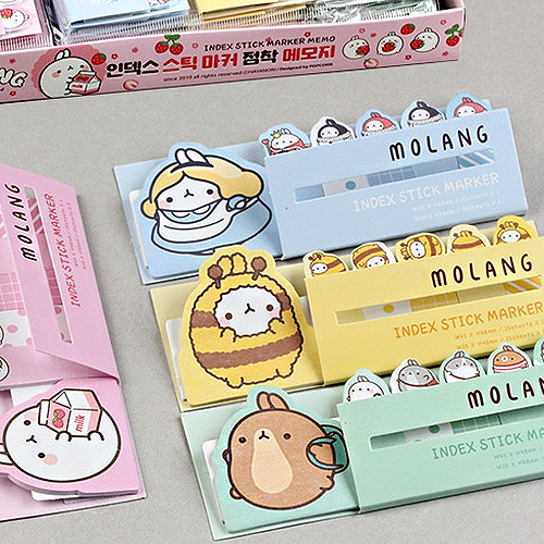 MOLANG INDEX STICK MARKERS STICKY MEMO