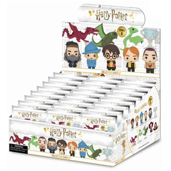 HARRY POTTER SERIES 6 3D FOAM KEYRING BLIND BAG