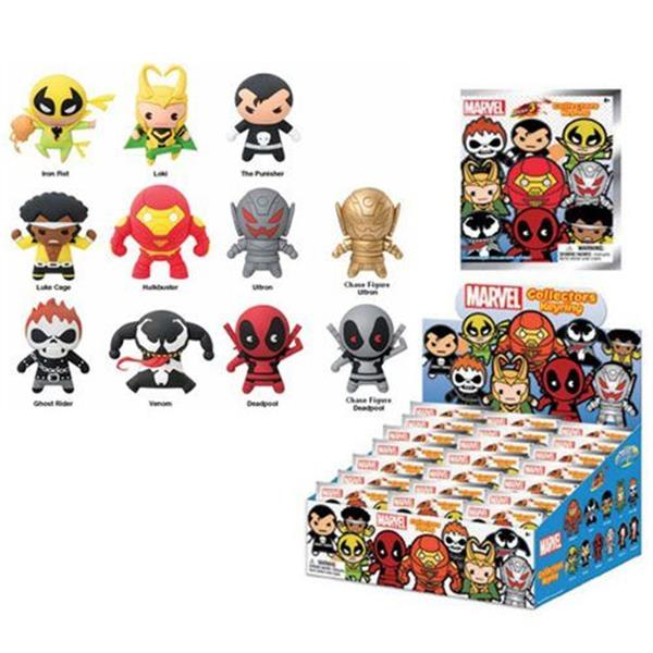 MARVEL SERIES 3 3D FOAM KEYRING BLIND BAG