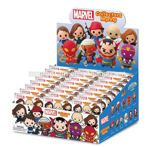 MARVEL SERIES 8 3D FOAM KEYRING BLIND BAG