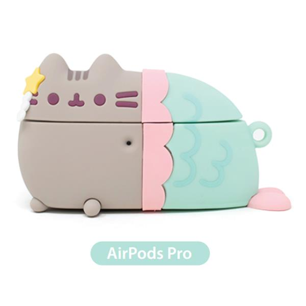 PUSHEEN AIR PODS PRO CASE MERMAID