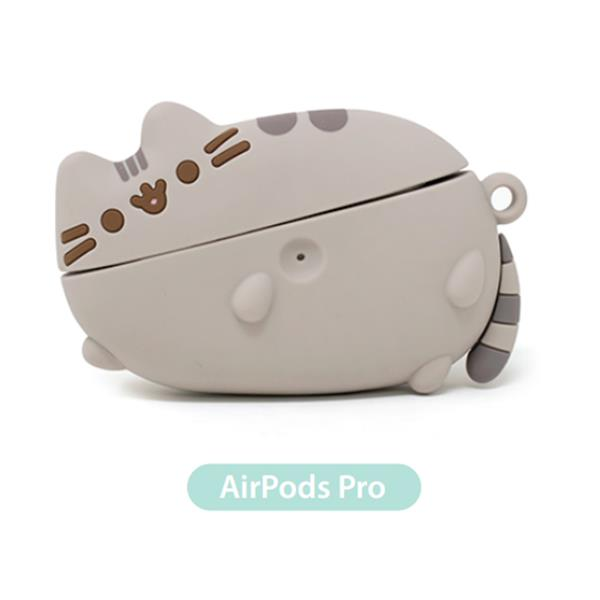 PUSHEEN AIR PODS PRO CASE LAYING DOWN